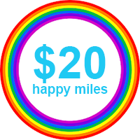 Happy Miles Rewards Card