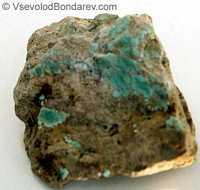 Бирюза, Водный фосфат алюминия и меди  Click to see full-size image