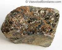 Касситерит, Оловянный камень  Click to see full-size image