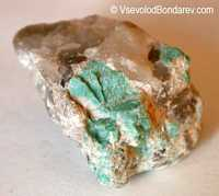 Амазонит, Амазонский камень, разновидность микроклина  Click to see full-size image