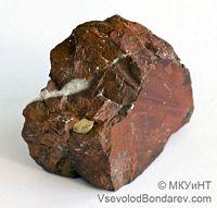 Кремень, Агрегат скрытокристаллического и аморфного кремнезема  Click to see full-size image