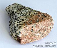 Пегматит, Еврейский камень, Микроклин  Click to see full-size image
