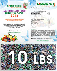 TopTropicals Smart Release Fertilizer, 10 lbs  Click to see full-size image