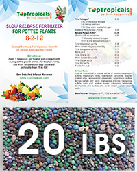 TopTropicals Smart Release Fertilizer, 20 lbs  Click to see full-size image