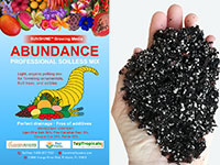 Abundance - TopTropicals professional soilless potting mix, 3 gal bag  Click to see full-size image