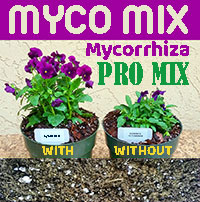Myco Mix - pro-mix with Mycorrhiza (soilless), 2 gal bag  Click to see full-size image