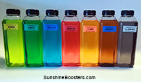 SUNSHINE Complete Nutrition Booster Kit - 500 ml each, pack of 7  Click to see full-size image