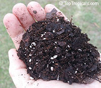 TopTropicals professional soilless potting mix, 3 gal bag