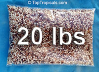 Top Tropicals Slow Release Fertilizer for potted plants, 20 pounds