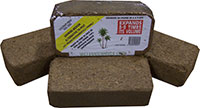Coconut Coir - Compressed Coco Fiber, 2-Pound BrickClick to see full-size image