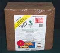 Coconut Coir - Compressed Coco Fiber, 11-Pound BlockClick to see full-size image