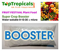 Fruit Festival Plant Food - Super Crop Booster  Click to see full-size image