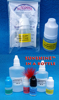 SUNSHINE-E - plant booster, 5 ml