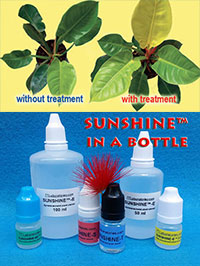 SUNSHINE-H - house plant booster, 5 ml